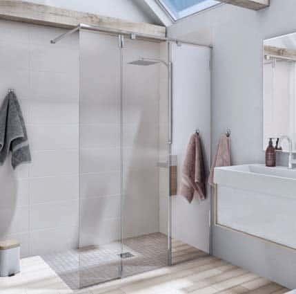 rénover sa salle de bain douche à l'italienne