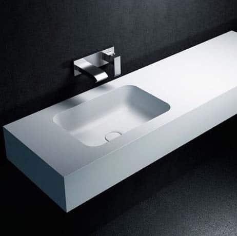 vasque en Corian haut de gamme Riluxa