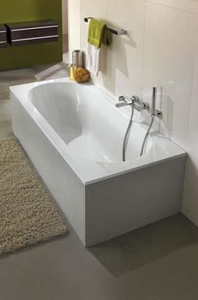 salle de bain Lapeyre baignoire droite