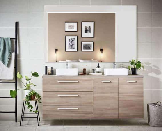 salle de bain Lapeyre bois