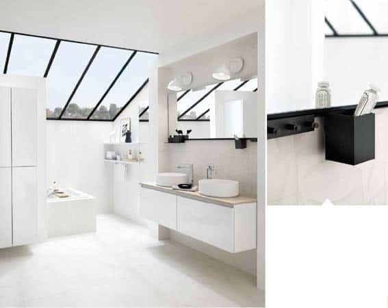 salle de bain Schmidt nordique
