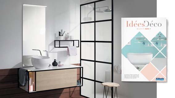 salle de bain chez Aubade magazine idée déco