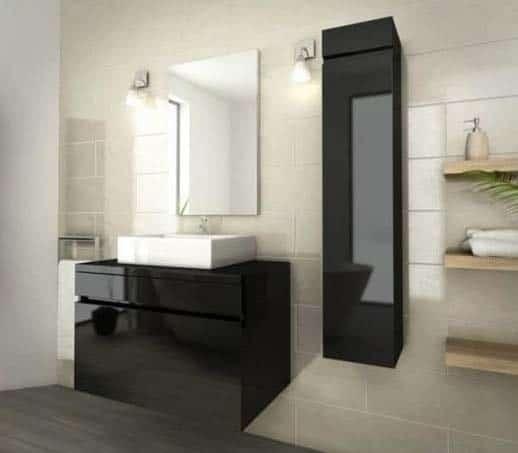 salle de bain conforama modèle Luna