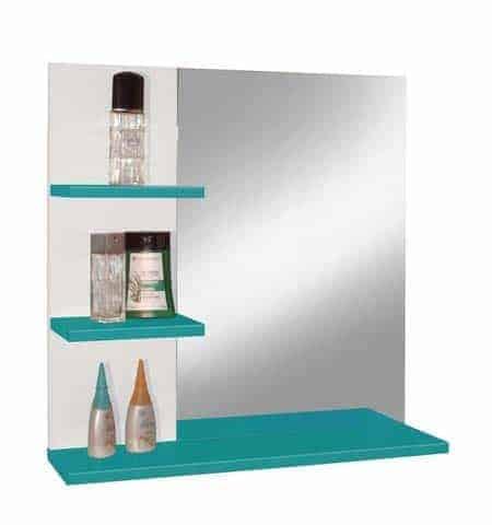 miroir à étagères Conforama