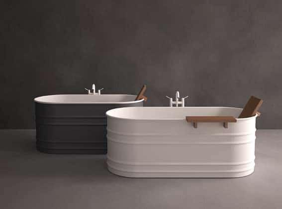 salle de bain de luxe style industriel