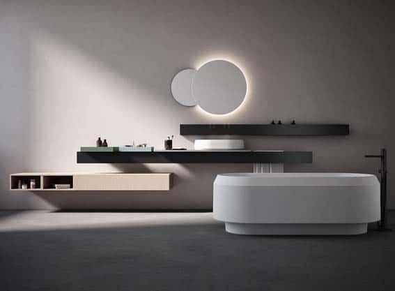 salle de bain de luxe Agape minimaliste