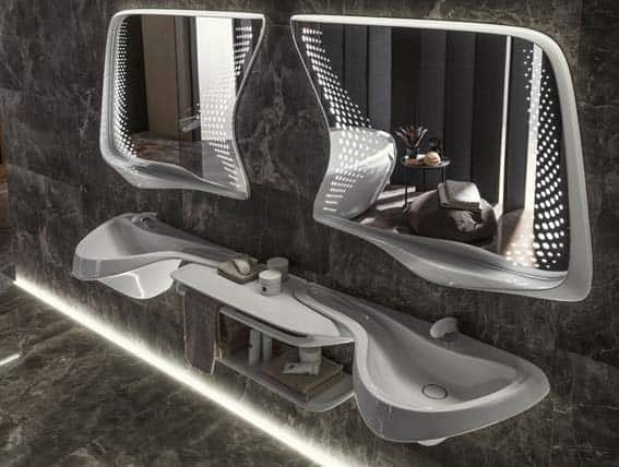 salle de bain ultra contemporaine