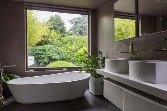 idées déco pour une salle de bain nature