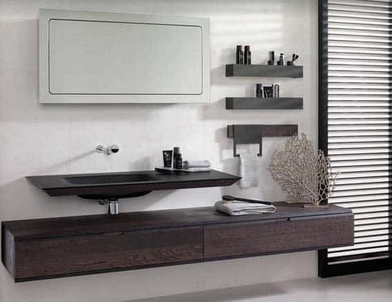 salle de bain Porcelanosa designer meuble modulaire